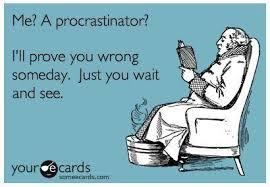 Procrastination Your Cards Image